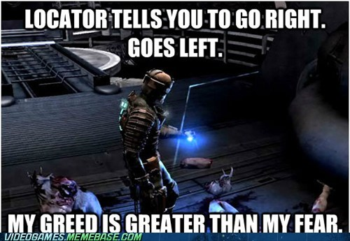 dead space wrong way locator survival horror - 6675230208