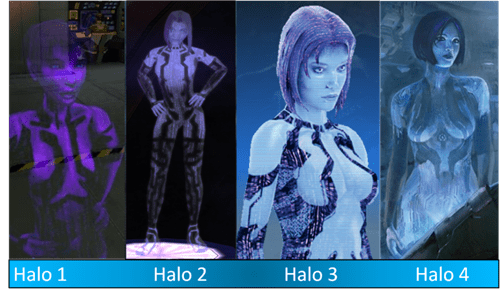 Halo 4 halo cortana xbox - 6675237632