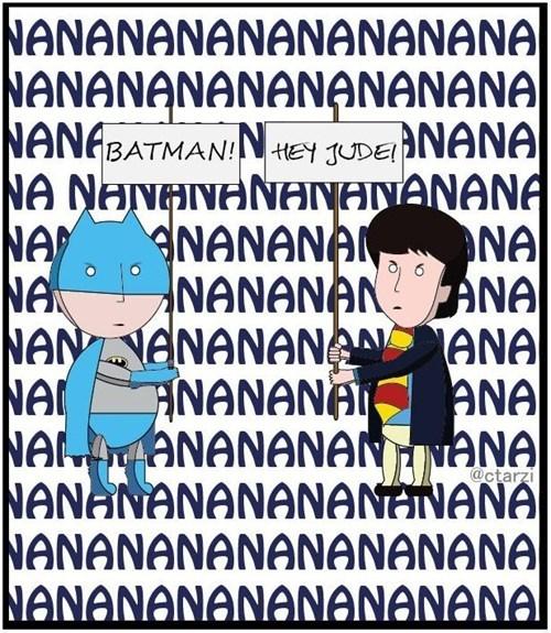 beatles batman nanana song - 6675259648