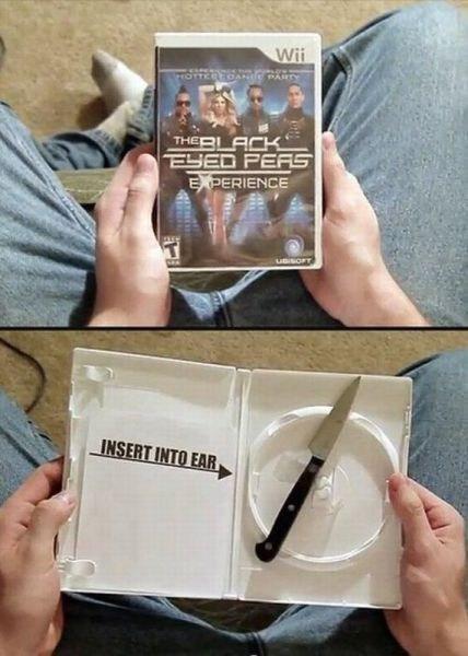 knife black-eyed peas video games - 6675307008