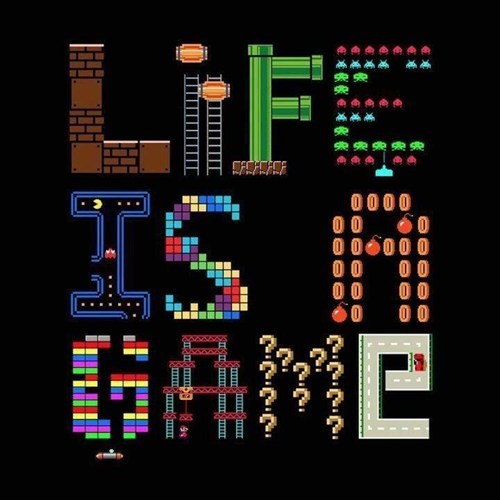 life is a game art video games - 6675360256