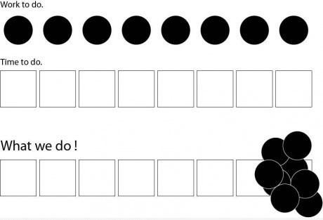 procrastination,dots,squares