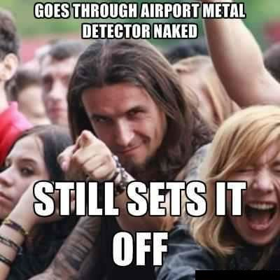 Cuz He So Metal