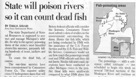 news river fish headline Probably bad News fishing - 6675481088