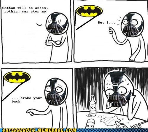 impossible batman bane Dark Knight Rises
