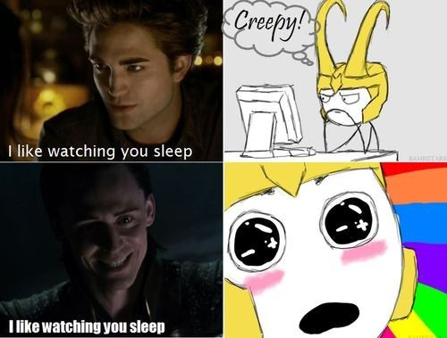funny,actor,celeb,robert pattinson,tom hiddleston,twilight,loki