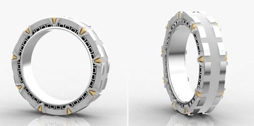 Stargate ring band spinning - 6675666944