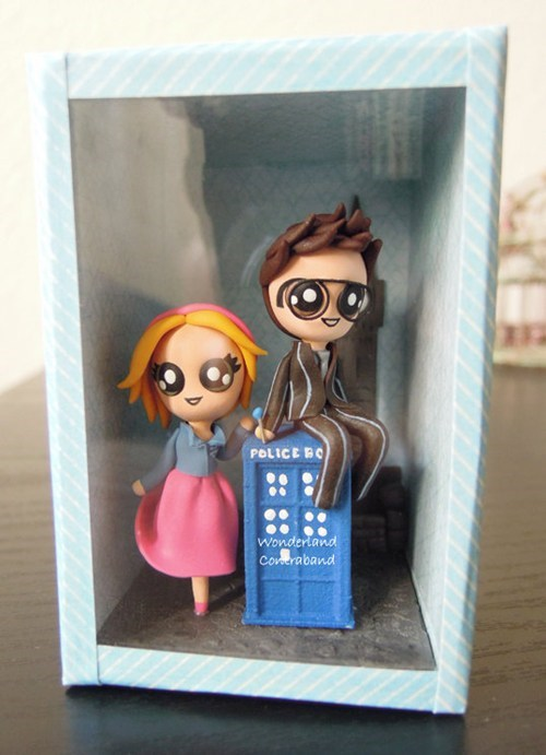 rose sculpture doctor tardis doctor who