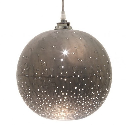 lamp light decor home pendant holes stars jupiter - 6675683840
