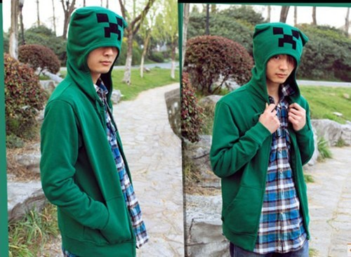 hoodie minecraft creeper hiss