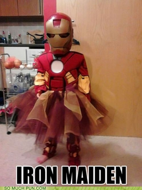 iron iron maiden iron man costume halloween female fe abbreviation periodic table element - 6675831552