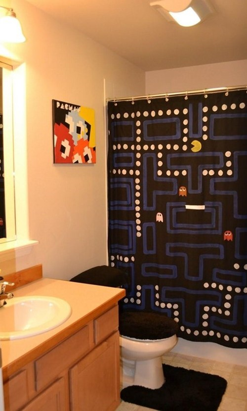 nerdgasm plumbing pac man cute design