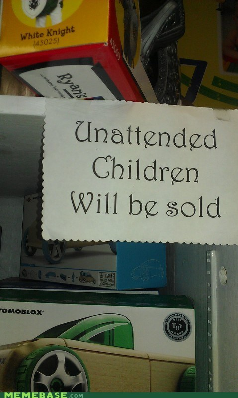 sign for sale children