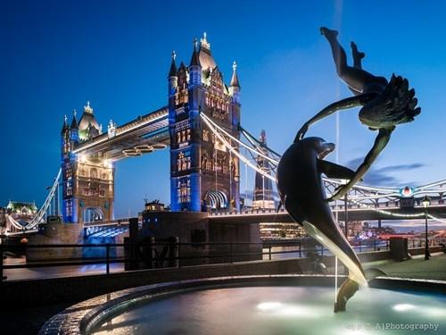London cityscape bridge