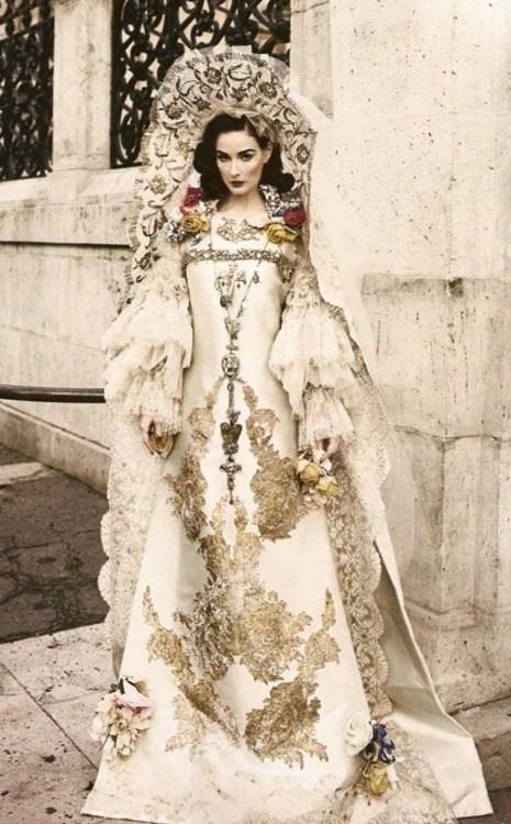 style fashion dita von teese flowers white - 6676136960