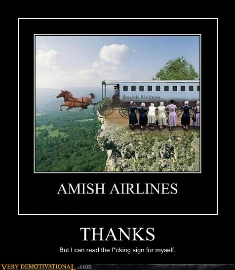 sign amish airlines read obvious - 6676413696