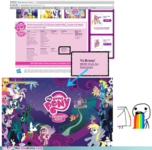 Bronies Hasbro yo brony look at me - 6676651008