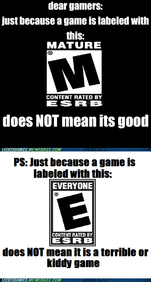 ratings m for mature E for everyone Hardcore Gamerz - 6677375488