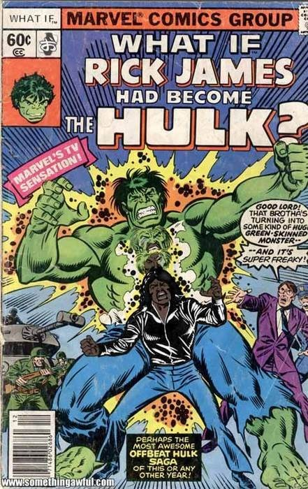 hulk,rick james,avengers,what if
