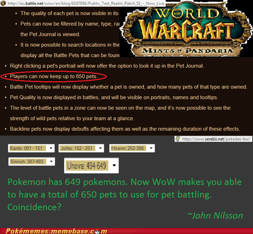 Pokémon world of warcraft video games it must be better - 6677607424