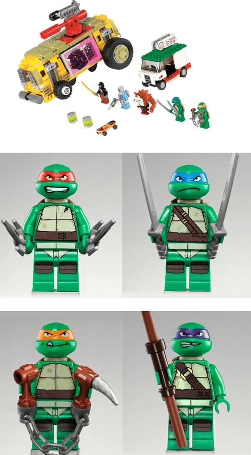 TMNT,teenage mutant ninja turtles,lego