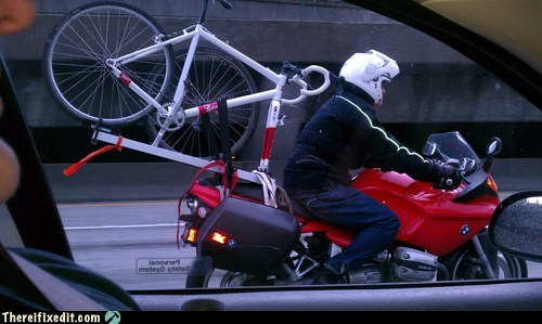 if it fits i sits motorcycle storage bike bicycle - 6677678592