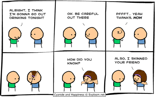cyanide & happiness,mom,drinking,cyanide-happiness