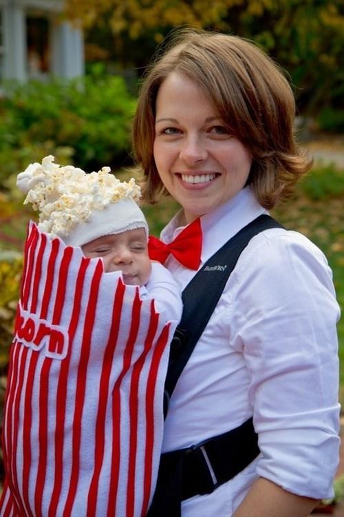 baby costumes popcorn vendor
