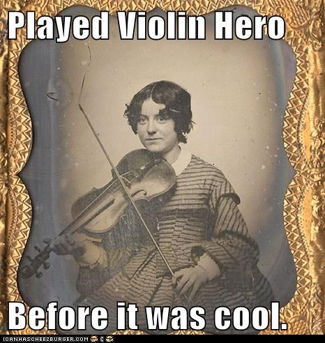 Viola video game violin hero violin