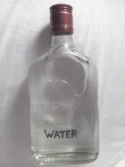 water liquor bottles hidden - 6678178816