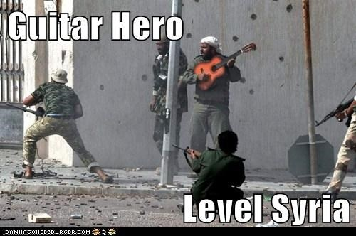 Guitar Hero,syria,fighting,song,level