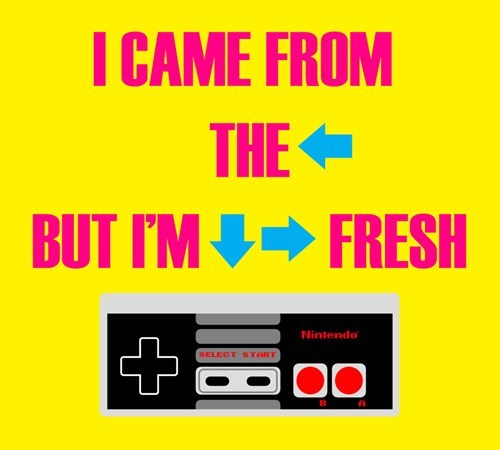 NES up down left right down right fresh - 6678234368