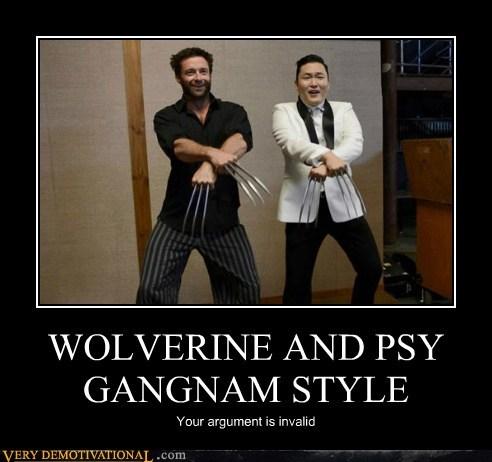 wolverine gangnam style psy - 6678301184