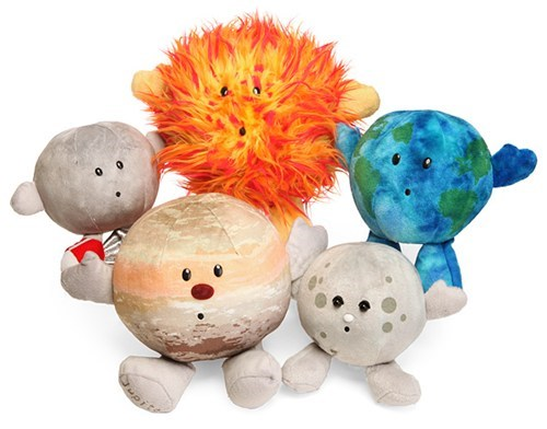 Plush toys solar system planets sun moon cute - 6678429184