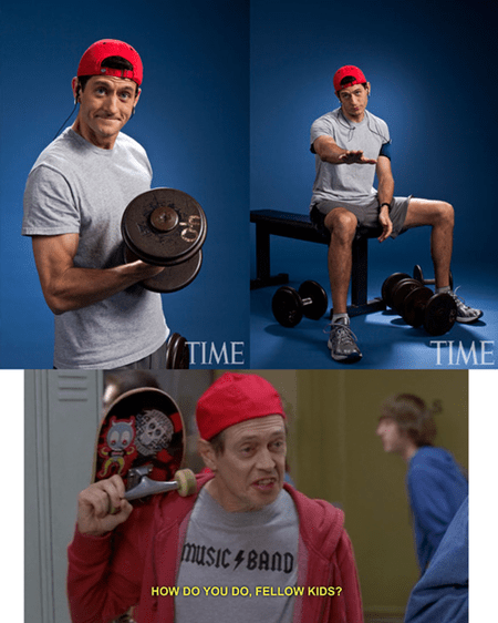 paul ryan,politics,steve buscemi,kids