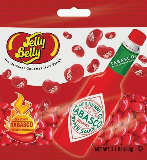 jelly beans spicy candy weird hot sauce - 6678497792