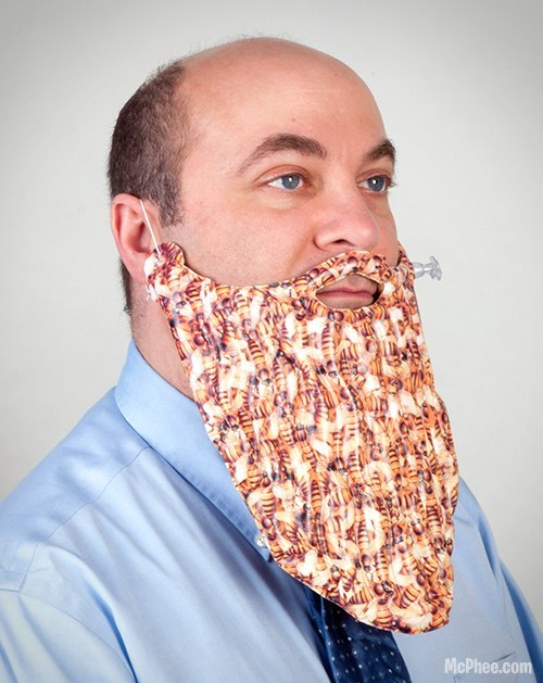 bees beard inflatable trendy fashion - 6678503168