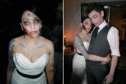 zombie after death makeup spooky - 6678514688