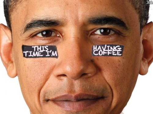 barack obama debate coffee tired real - 6678784256
