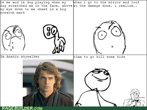 scratch pets dogs anakin skywalker not the younglings - 6678812160