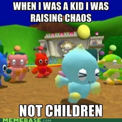 Childhood Chao's