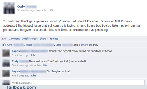 honey boo-boo Mitt Romney barack obama - 6679328512