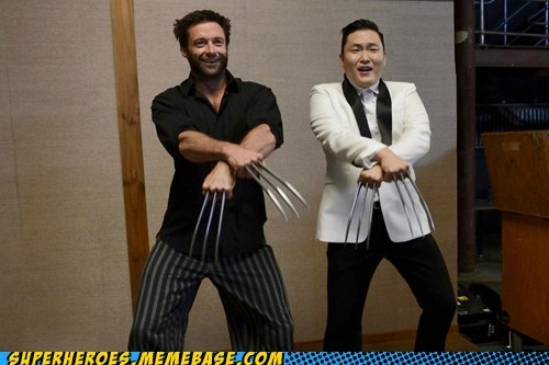 wolverine psy awesome gangnam style - 6679780096