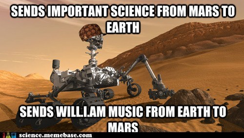 Music Mars curiosity earth