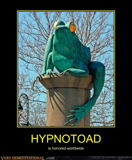HYPNOTOAD is honored worldwide
