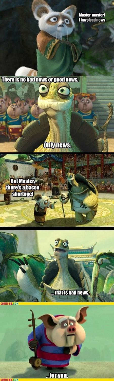 extended cut Kung Fu Panda Movie bacon shortage - 6680384000