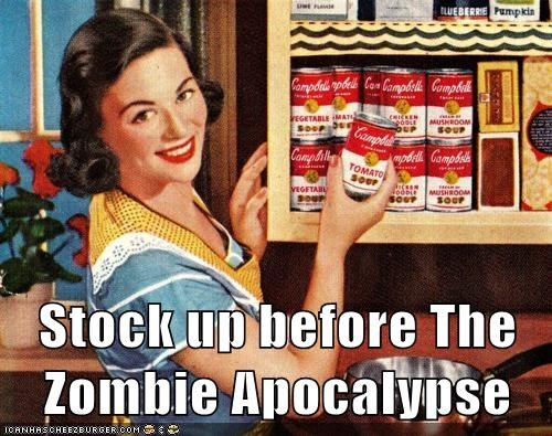 pantry housewife soup zombie apocalypse mom - 6680667136