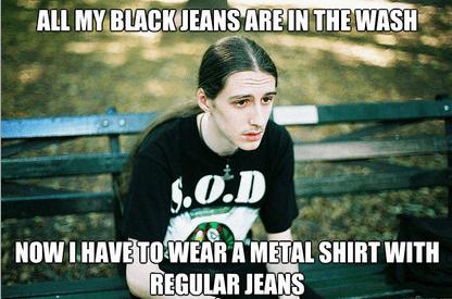 heavy metal meme jeans - 6680703232