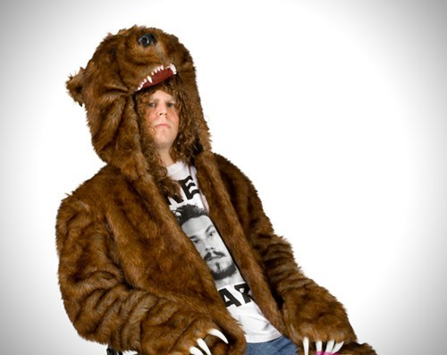bear coat,so this exists