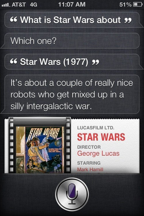 star wars selective memory siri robots - 6680814848